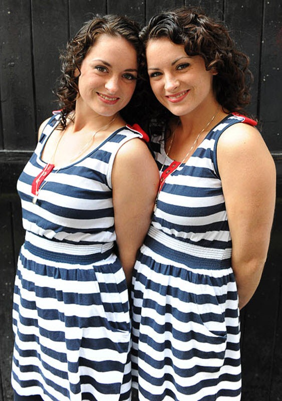 The Most Identical British Twins Competition Amusing Planet